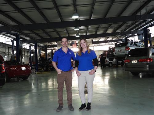 Lauren Dennison & Chad Shelton