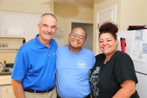 Compassionate care at our independent living apartments.