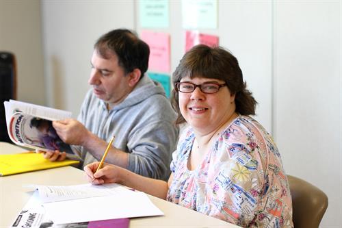 Enrichment Center day program classes.