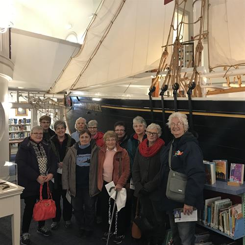 Harwich Seniors at Provincetown's Library