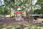 Guest picnic area and grounds