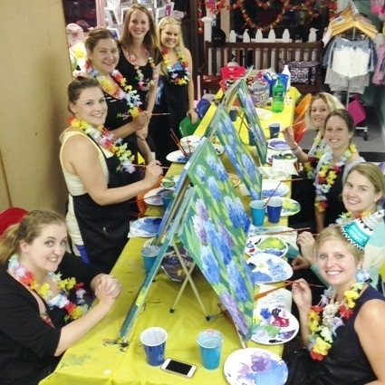 PRIVATE Evening MakeARt Events PAINTING 7-9PM Businesses, Organizations, ect.