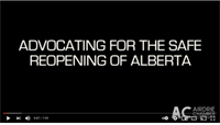 Airdrie Chamber and entrepreneurs ask Alberta government to allow businesses to reopen