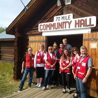 First-Aid4All working with the Red Cross due to the Wildfires in BC during the summer of 2017.