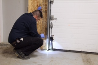 A proper fit and seal for garage doors mitigates pest migration issues