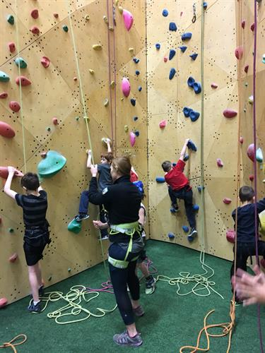 Rock Climbing Learning Cluster