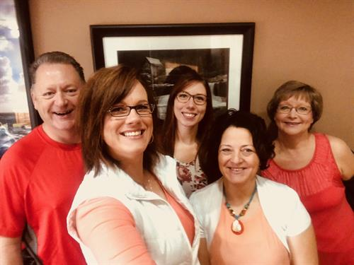 Office Staff on Orange Shirt Day