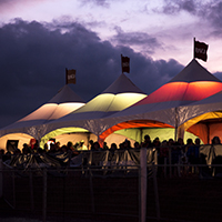 BVJ - Venue Tents with lights