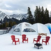 Nakiska - Ski Tent rentals
