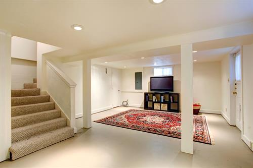 Expand your living space by finishing your basement