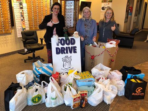 Airdrie Food Bank Christmas Food Drive 2019