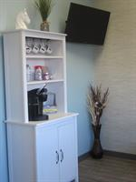 Coffee Station in Waiting Room