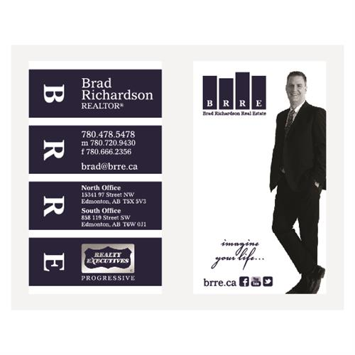 Brad Richardson Real Estate Business Cards