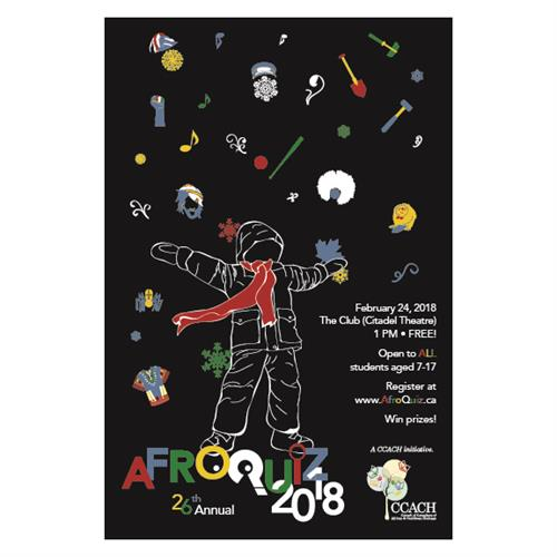 AfroQuiz Event Program 2018