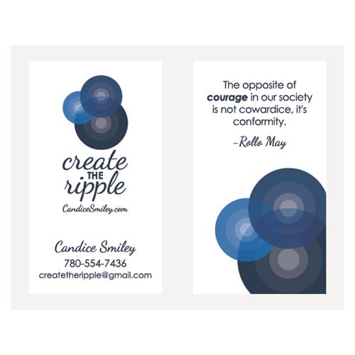 Create the Ripple Business Cards