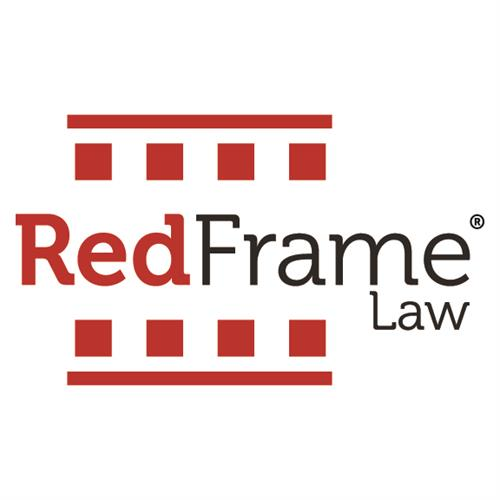Red Frame Law Logo