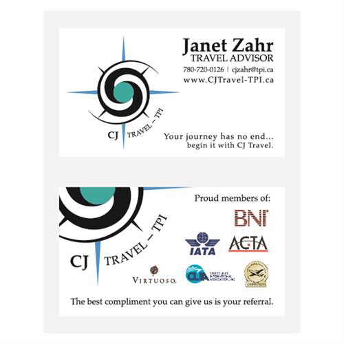 CJ Travel - TPI Business Cards