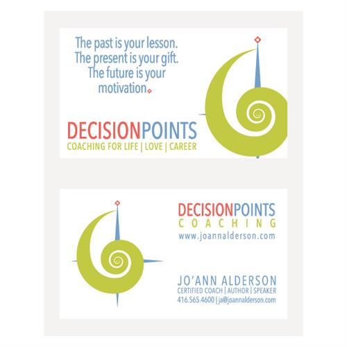 Decision Points Business Cards