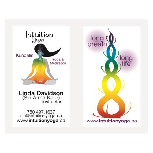 Intuition Yoga Business Cards