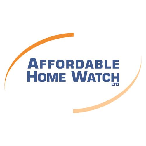 Affordable Home Watch Logo