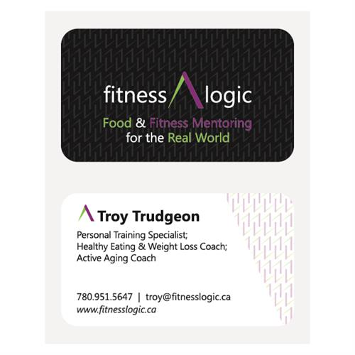 Fitness Logic Business Cards
