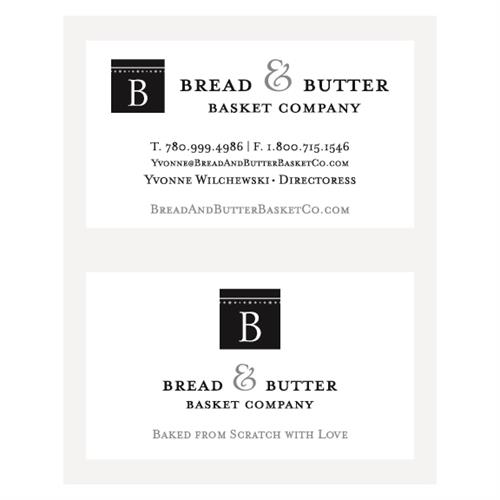 Bread & Butter Basket Company Business Cards