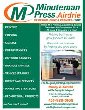 Minuteman Press, Airdrie