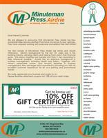 Minuteman Press, Airdrie - Airdrie