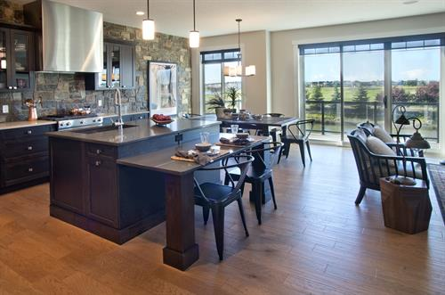 Carlingford kitchen and dining areas