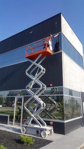 Commercial Window Clean South Calgary