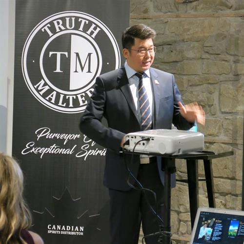 Truth Malters Master Class with Mr. Ian Chang, the '2018 World Distiller of the Year' and '2017 World Brand Ambassador of the Year'.