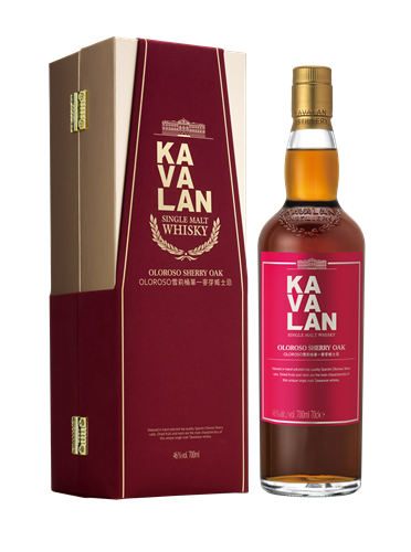 Kavalan Oloroso Sherry Oak Cask Cask Single Malt Whisky