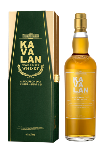Kavalan ex-Bourbon Oak Cask Cask Single Malt Whisky