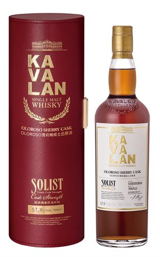 Kavalan Solist Oloroso Sherry Cask Single Malt Whisky
