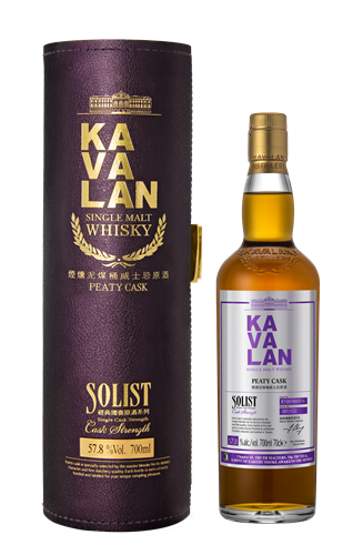 Kavalan Solist Peaty Rum Cask Single Malt Whisky - Truth Malters Chapter #3