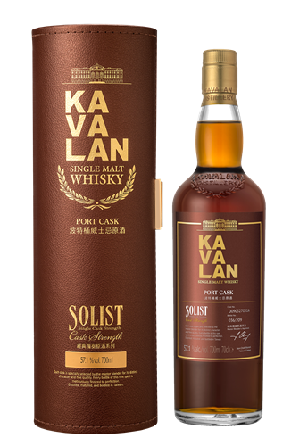 Kavalan Solist Port Cask Single Malt Whisky