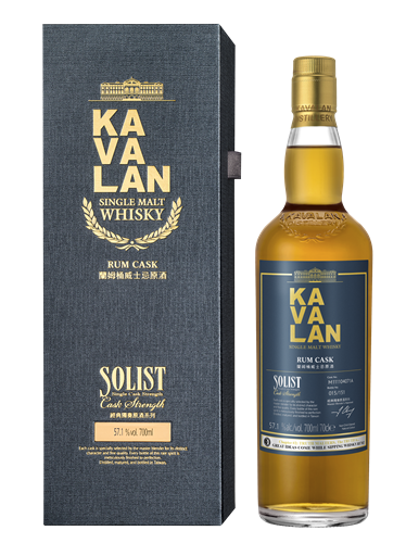 Kavalan Solist Rum Cask Single Malt Whisky - Truth Malters Chapter #2