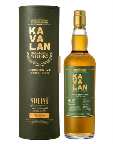 Kavalan Solist ex-Bourbon Cask Single Malt Whisky
