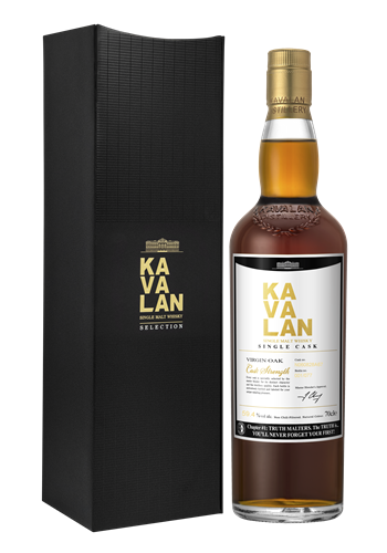 Kavalan Virgin Oak Single Malt Whisky - Truth Malters Chapter #1
