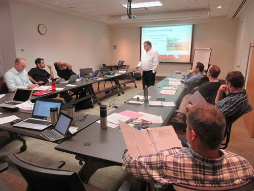 Teaching ICS to first responders and industry.