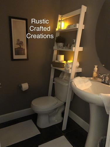 Toilet Ladder Shelf