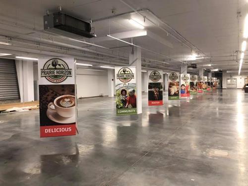 New Horizon Mall Market Banners