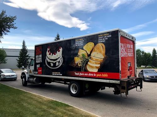 Calgary Coop Truck Wrap
