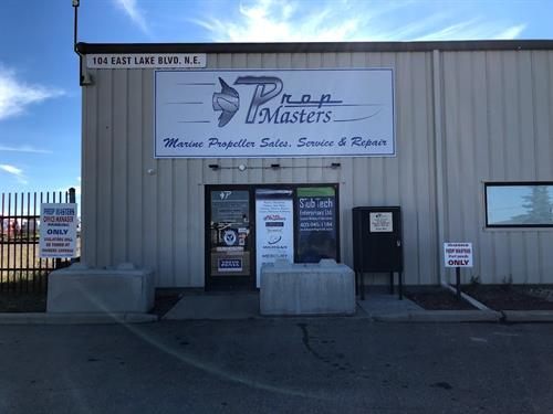 Prop Masters Airdrie Exterior Sign and Window Graphics