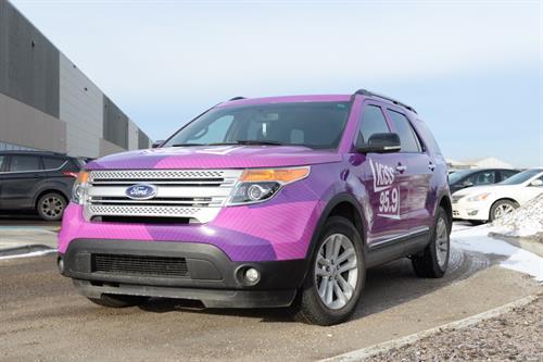 Kiss FM SUV Wrap