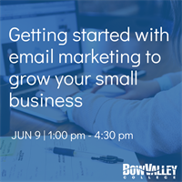 Member Event - Getting started with email marketing to grow your small business