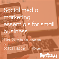 Member Event - Social media marketing essentials for small business