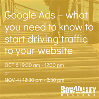 Member Event - Google Ads – what you need to know to start driving traffic to your website