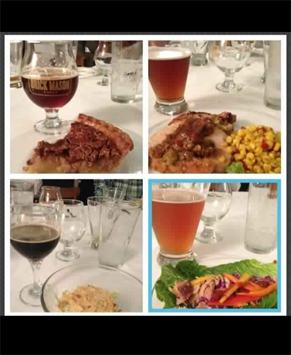 Red Brick Brewing Beer Pairing Dinner