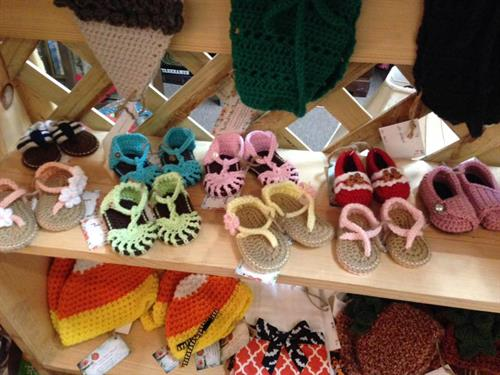 Handmade Crocheted Baby Items